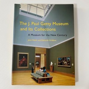 J. Paul Getty Museum Collection Catalog Book NEW